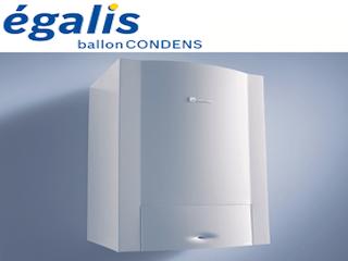 Installation et fourniture d'une chaudière à condensation Egalis ELM LEBLANC
