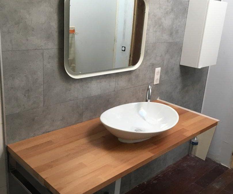 Rénovation salle de bain avant/après à Bordeaux