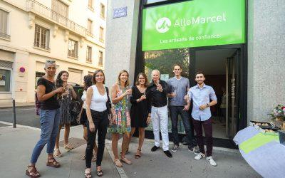 Inauguration de La Boutique Lyonnaise d'Allomarcel !