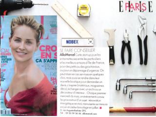 AlloMarcel est à nouveau recommandé par le magazine Elle !