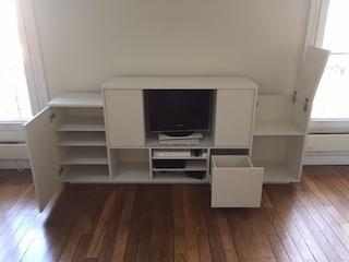 Conception d'un meuble TV sur mesure