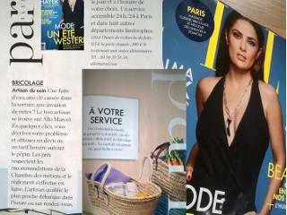 AlloMarcel dans les bons plans Paris du magazine Elle