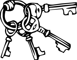 Les organigrammes de clés