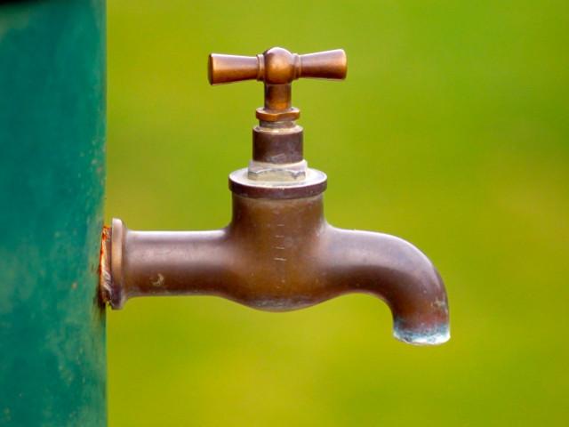Pose d'un robinet