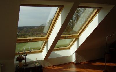 Pose d'une fenêtre de toit (type Velux)