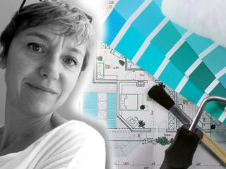 Christelle et le design d'espace à Nantes