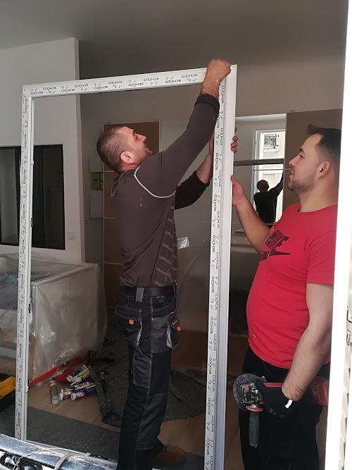 Pose de fenêtres PVC double vitrage en rénovation dans un appartement à Issy-les-Moulineaux