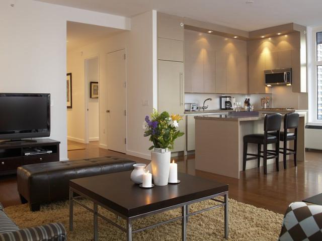 Un appartement rénové à moindres frais