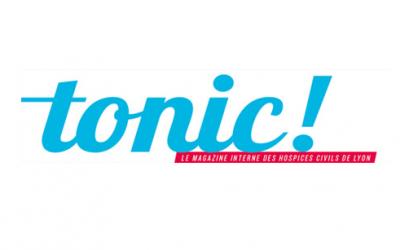 TONIC! le magazine interne des hospices de Lyon, recommande AlloMarcel