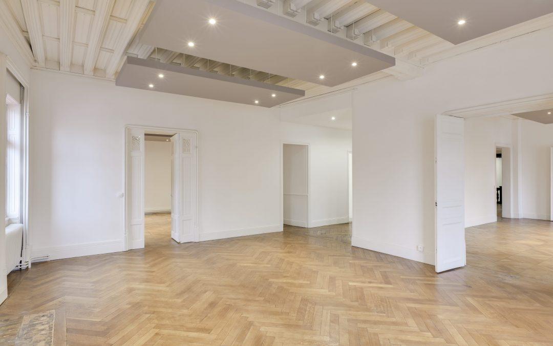 Rénovation complète de bureaux à Paris
