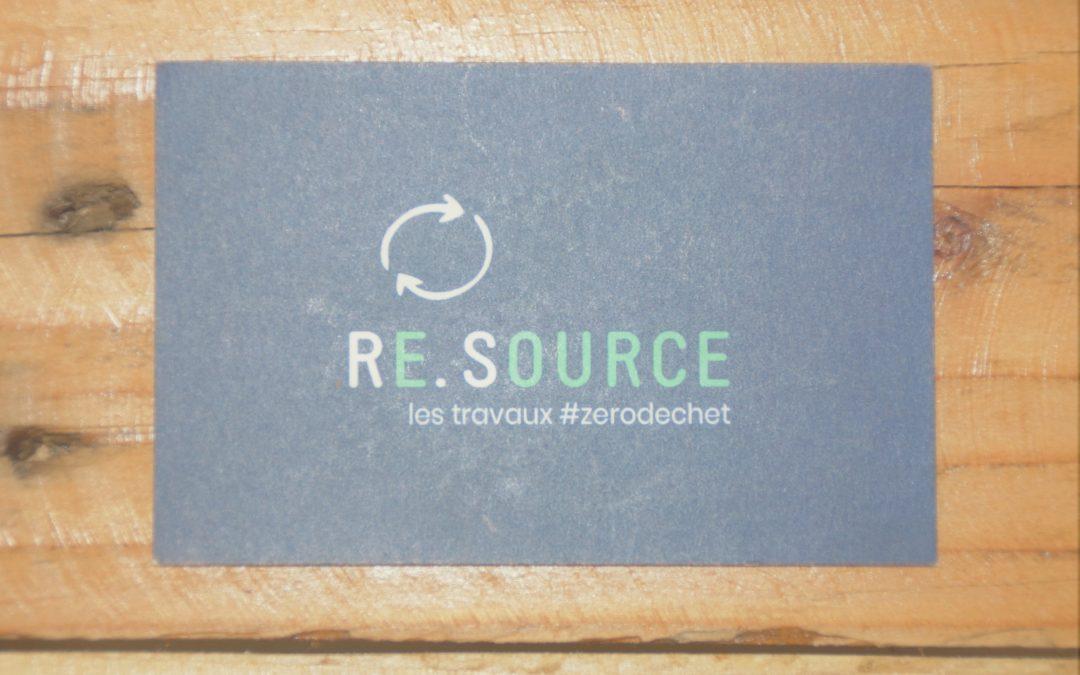 Partenariat : Re.Source, la start-up qui promeut l'éco-construction.