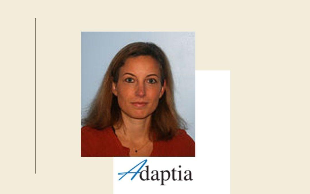 Constance, ergothérapeute co-fondatrice d'Adaptia.