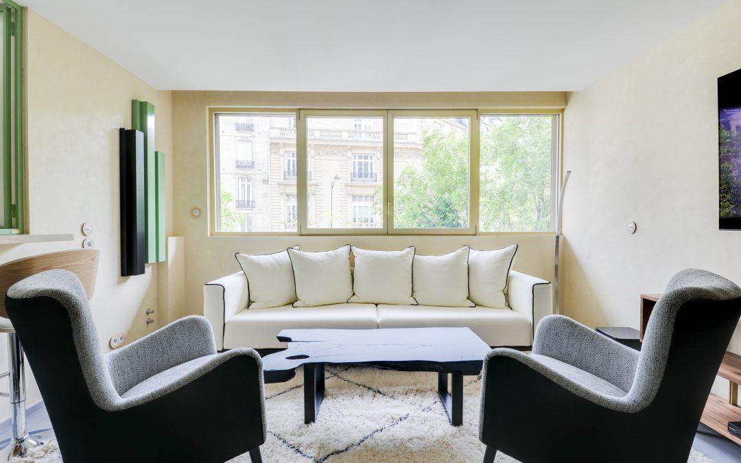 Rénovation complète d'un appartement rue de Courcelles – Paris
