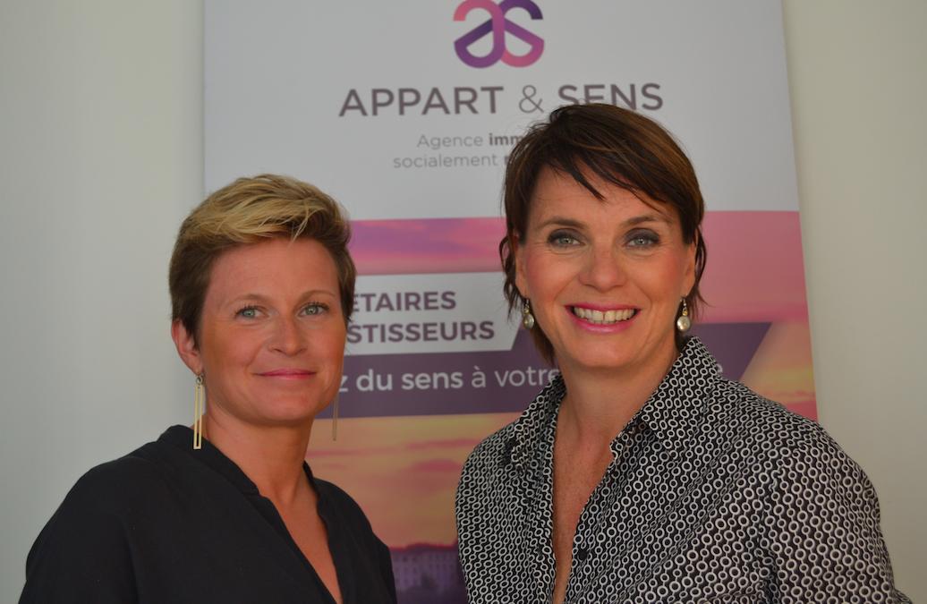 Partenariat : Appart&Sens, l'agence immobilière responsable à Lyon.